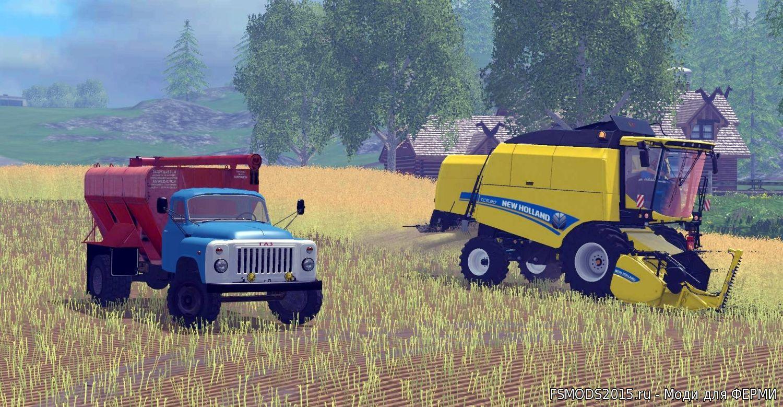 скачать моды на газ 53 для farming simulator 2015